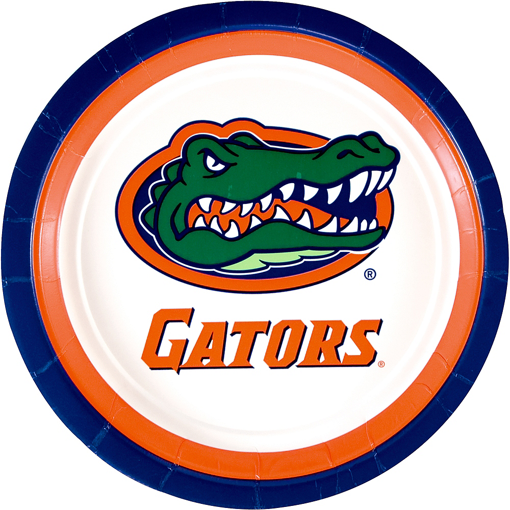 Florida Gators Lunch Plates 10ct Image #1