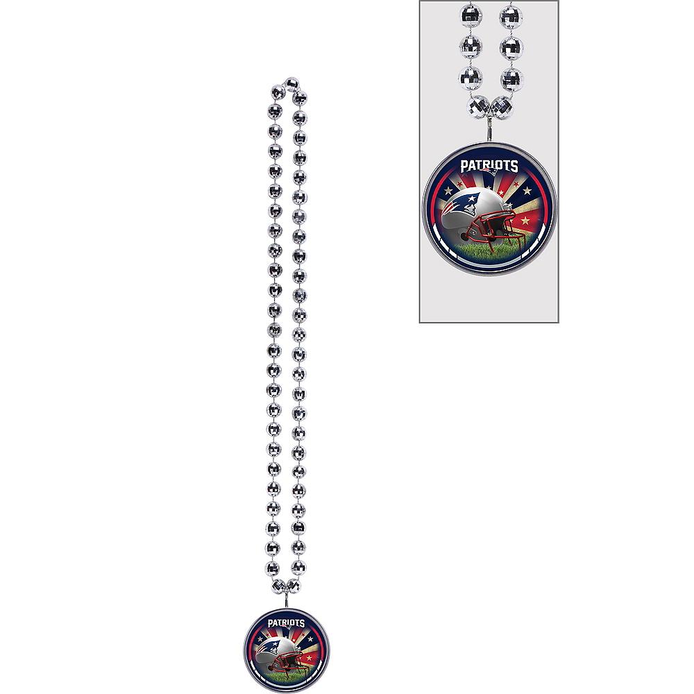 New England Patriots Bottle Opener Bead Necklace Image #1