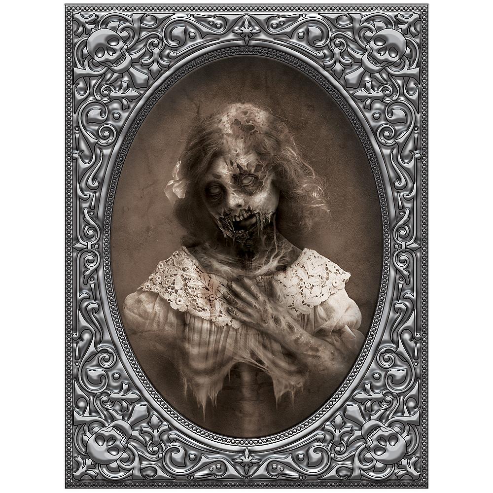 Girl Zombie Lenticular Portrait Decoration Image #2