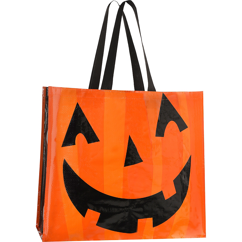 Jack-o'-Lantern Tote Bag Image #2
