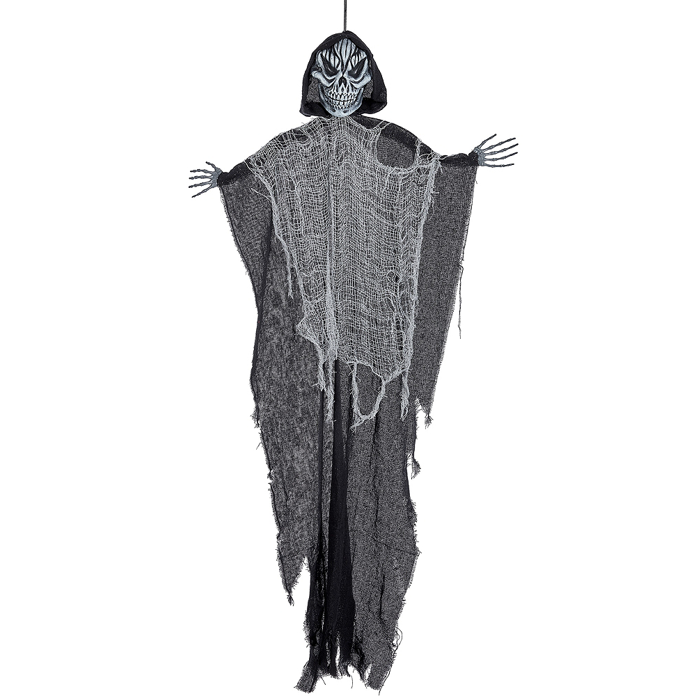 Giant Black Grim Reaper Decoration Image #1