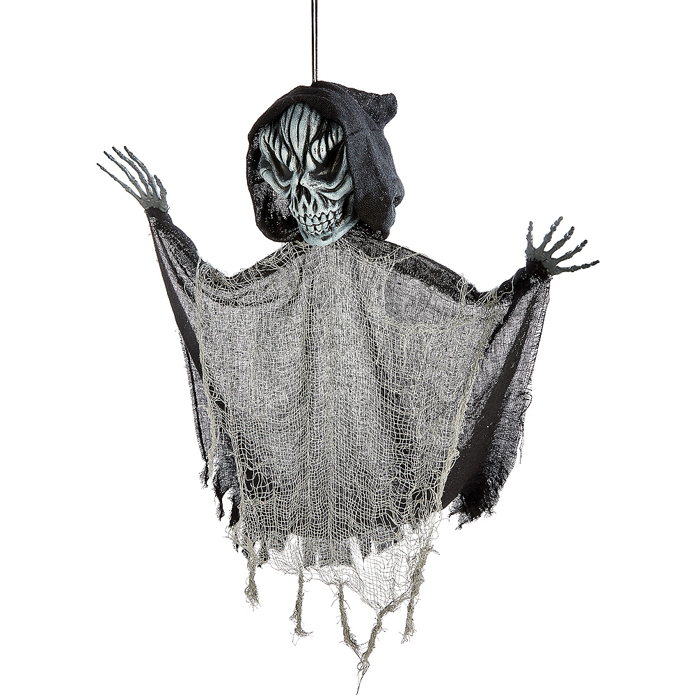 Giant Black Grim Reaper Decoration Image #2