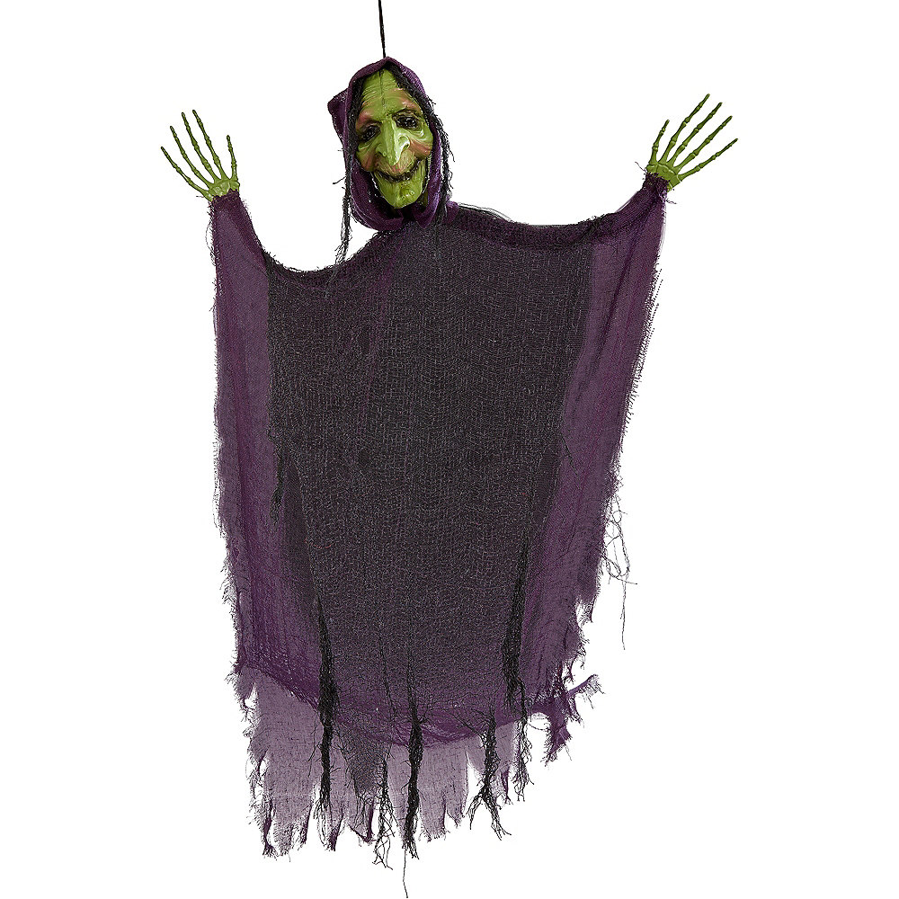 Giant Green Witch Decoration Image #2