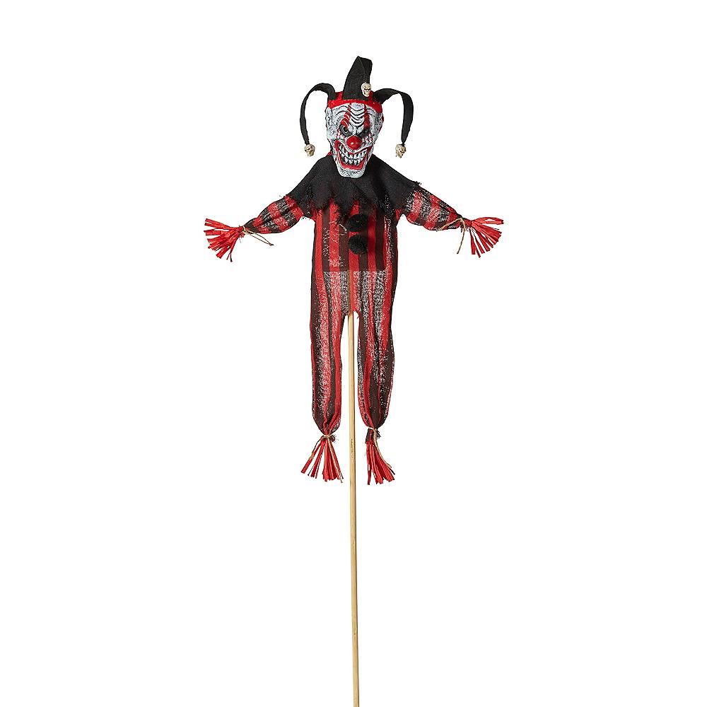 Giant Evil Clown Yard Stake Image #1