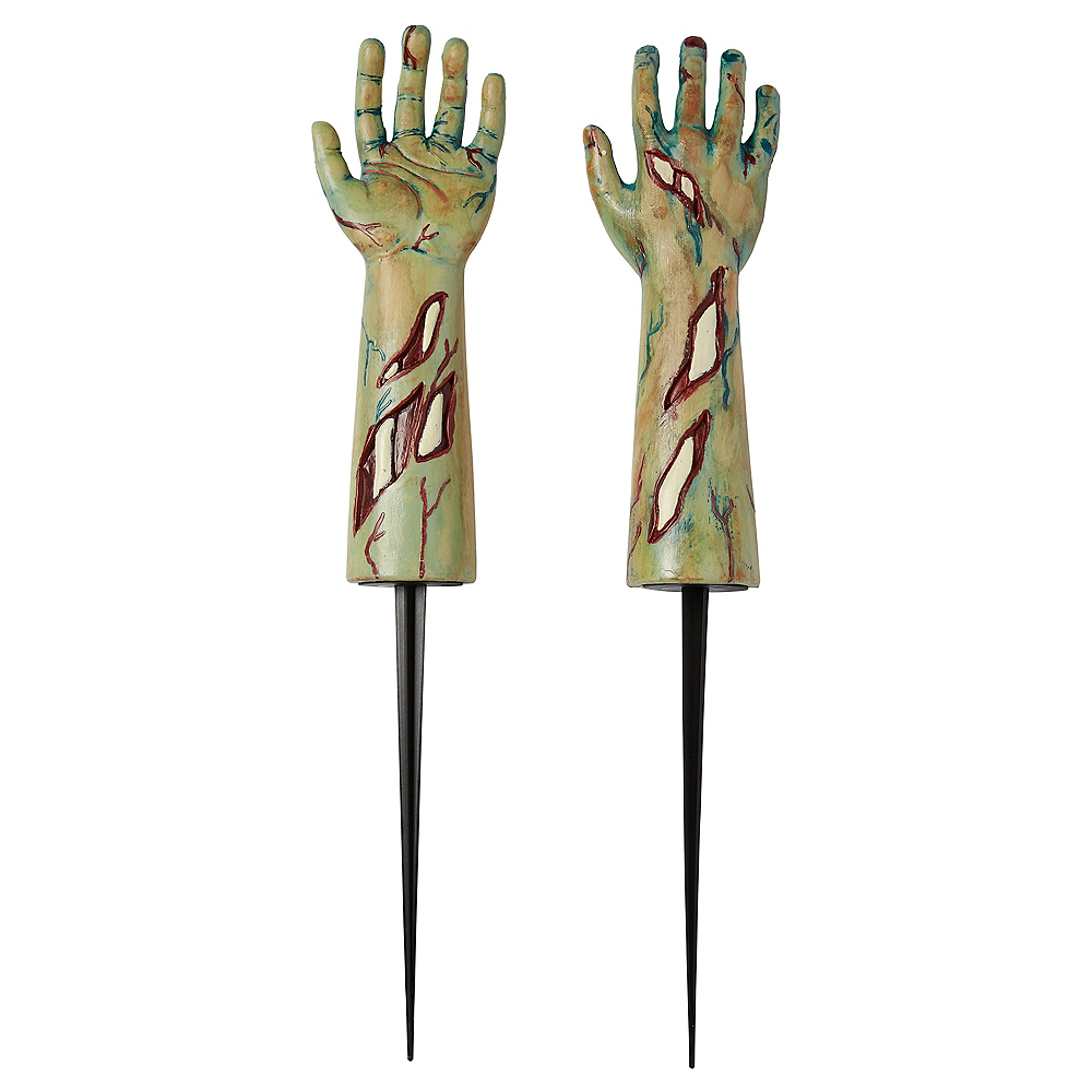 Zombie Arm Yard Stakes 2ct Image #1