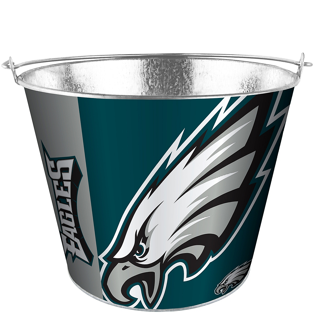 Philadelphia Eagles Galvanized Bucket Image #1