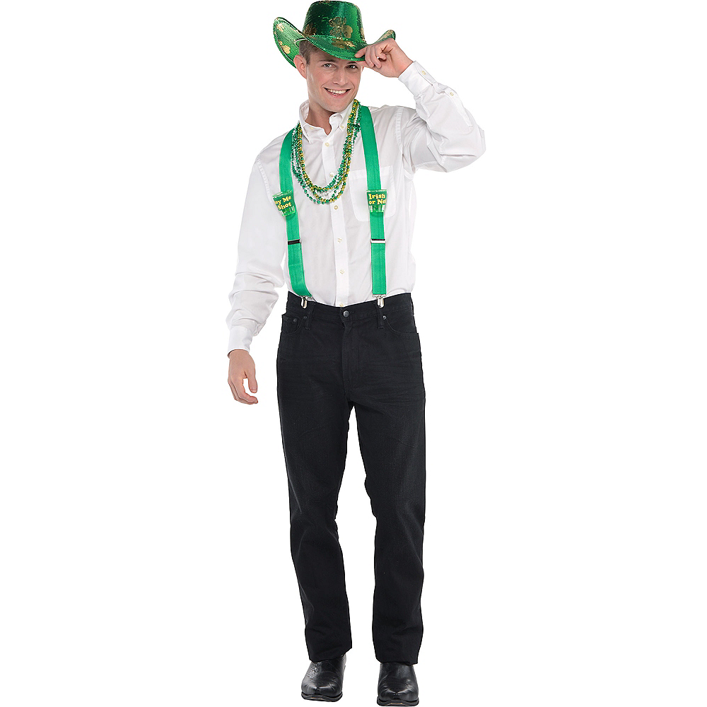 Adult Cowboy St. Patrick's Day Accessory Kit Image #1