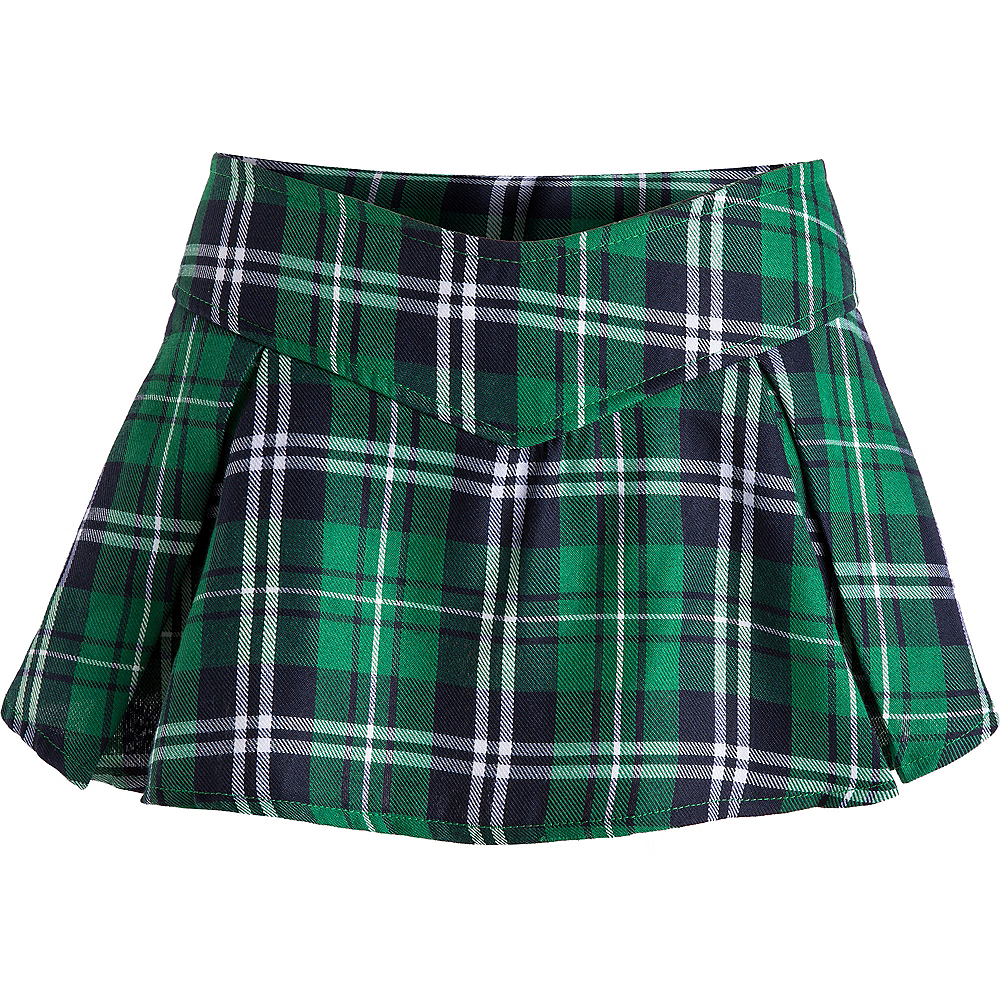 Nav Item for Adult Preppy Plaid St. Patrick's Day Costume Image #3