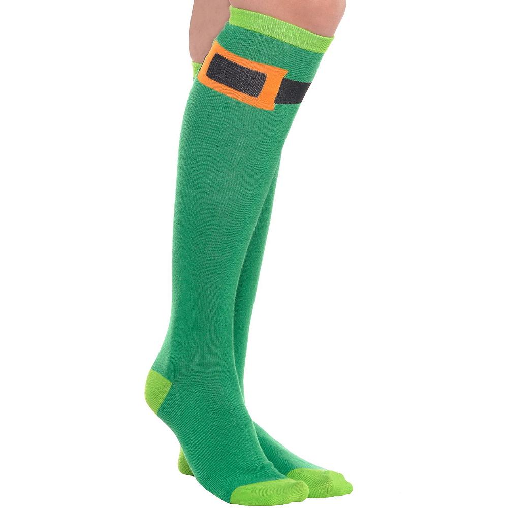 Adult Plaid St. Patrick's Day Kilt Costume Image #3