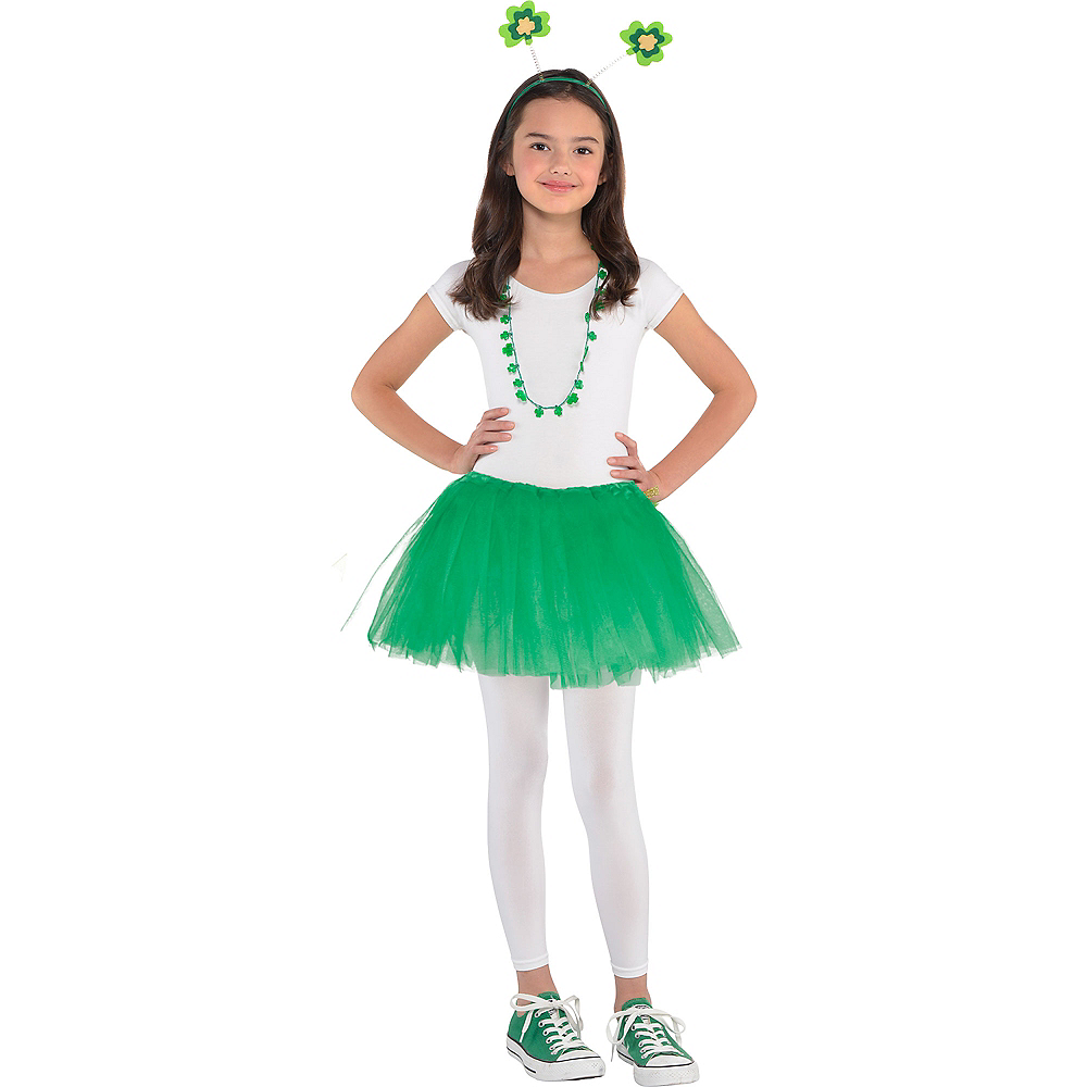 Nav Item for Girls St. Patrick's Day Costume Image #1