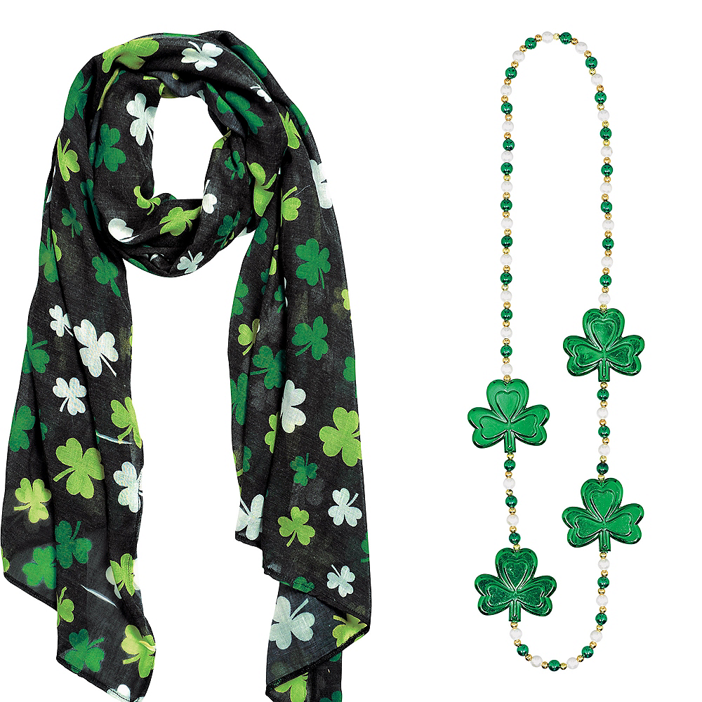Nav Item for Adult Shamrock St. Patrick's Day Costume Image #3