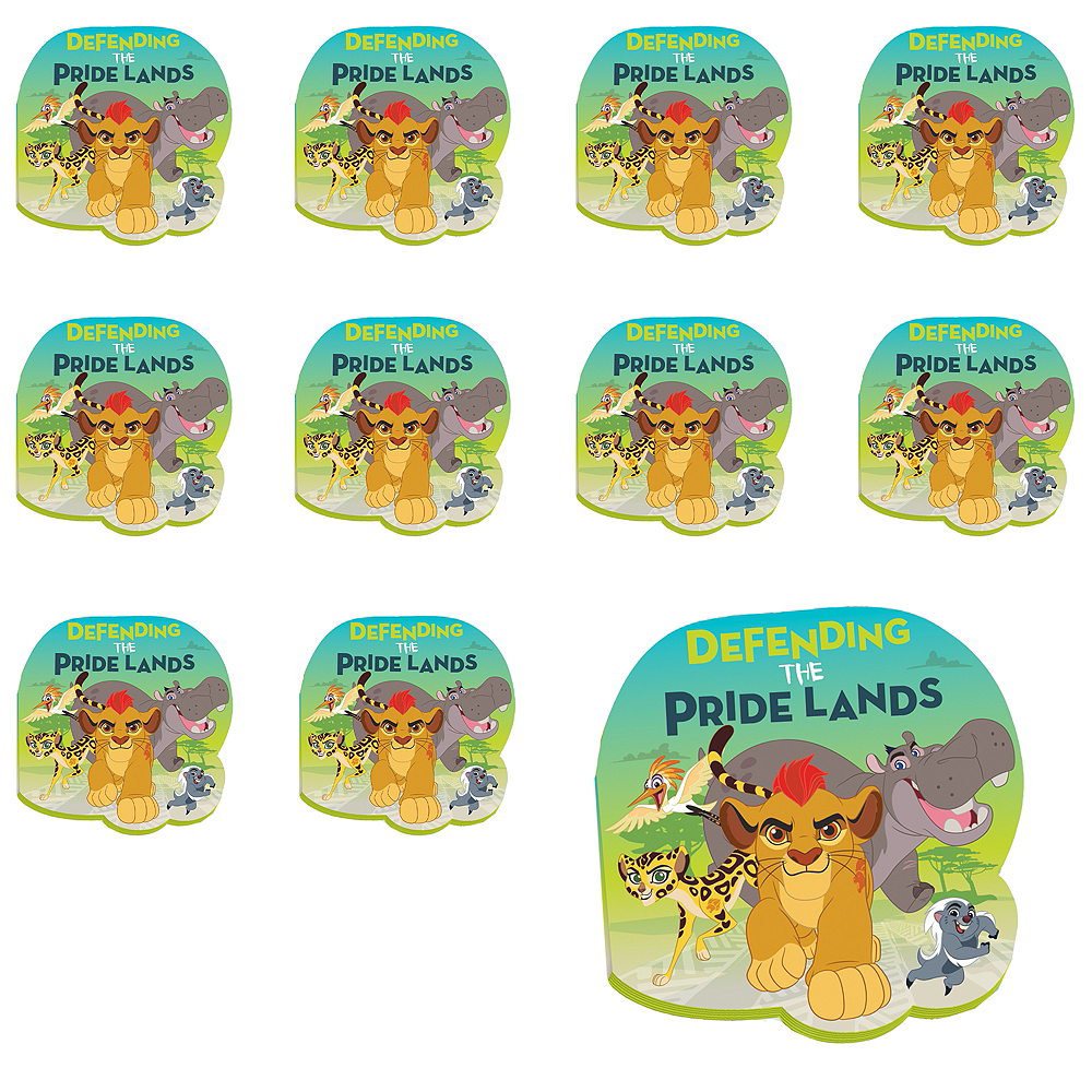 Lion Guard Notepads 24ct Image #1