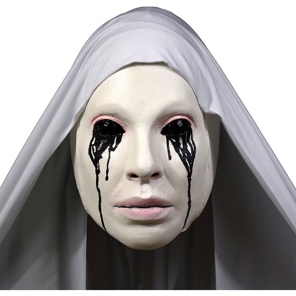 Adult White Nun Mask - American Horror Story Asylum Image #1