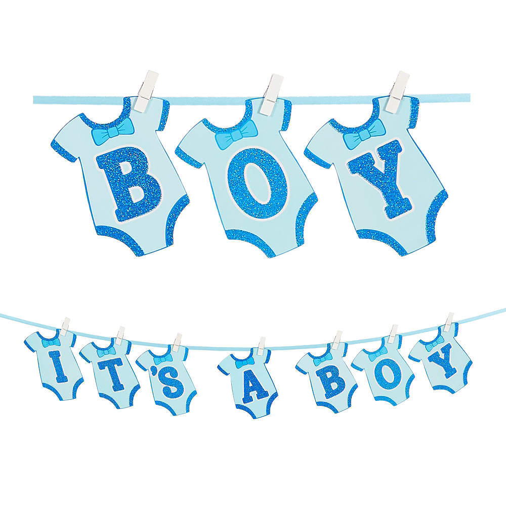 It's a Boy Baby Shower Banner Image #1