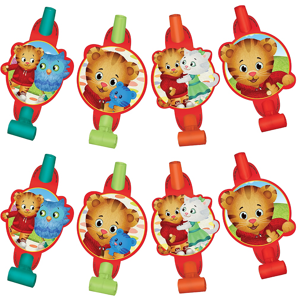Nav Item for Daniel Tiger's Neighborhood Blowouts 8ct Image #1