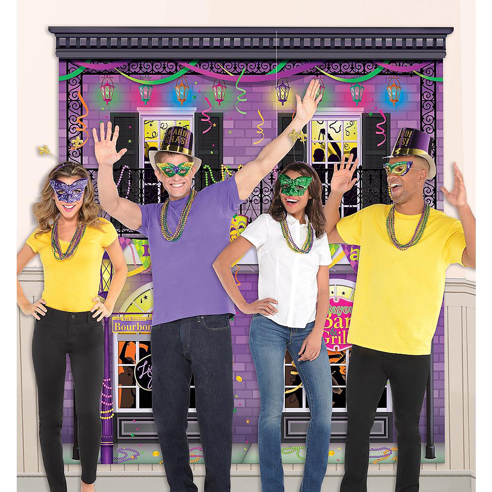 Mardi Gras Photo Booth Kit Image #1