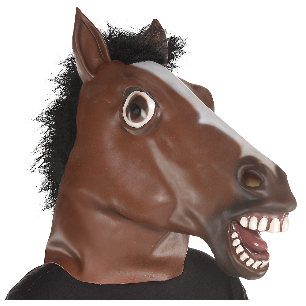 Nav Item for Adult Horse Mask Image #1