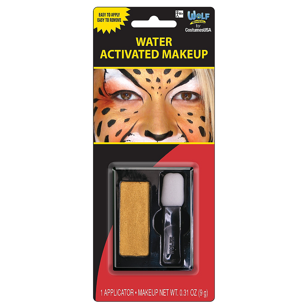 Gold Water Activated Makeup Kit Image #1