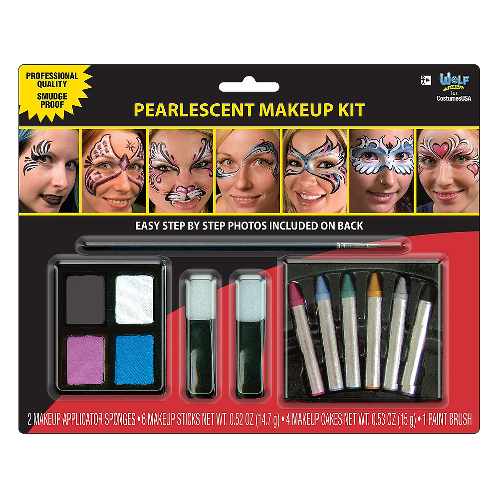 Pearlescent Makeup Kit Image #1