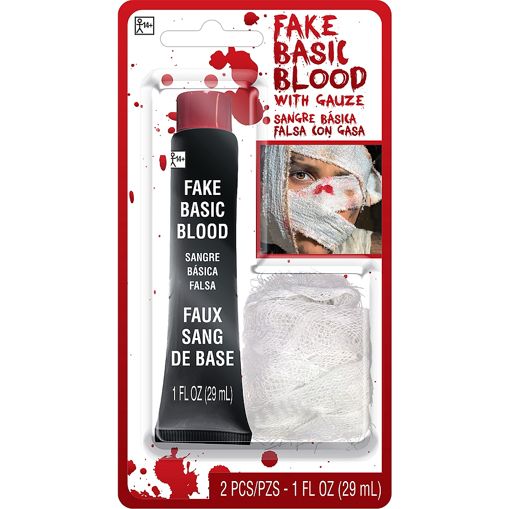 Fake Blood Makeup Kit Image #1