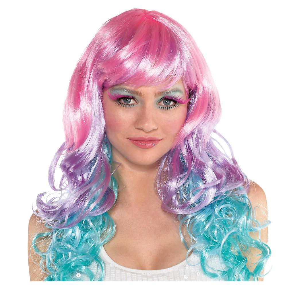 Adult Pastel Wig Image #1