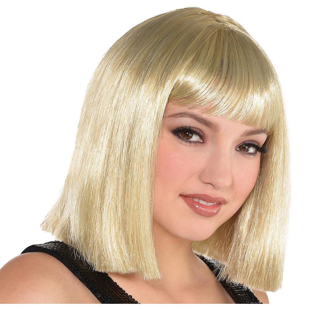 Adult Blonde Bob Wig Image #1