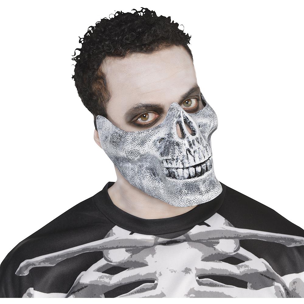 Adult Skeleton Mouth Mask Image #1