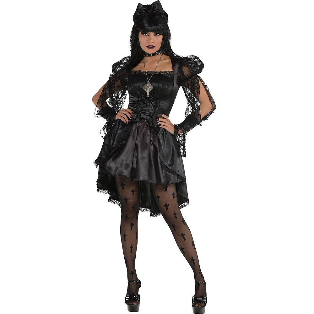 Adult Gothic Dress Image #1
