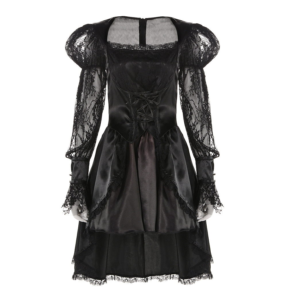 Adult Gothic Dress Image #2