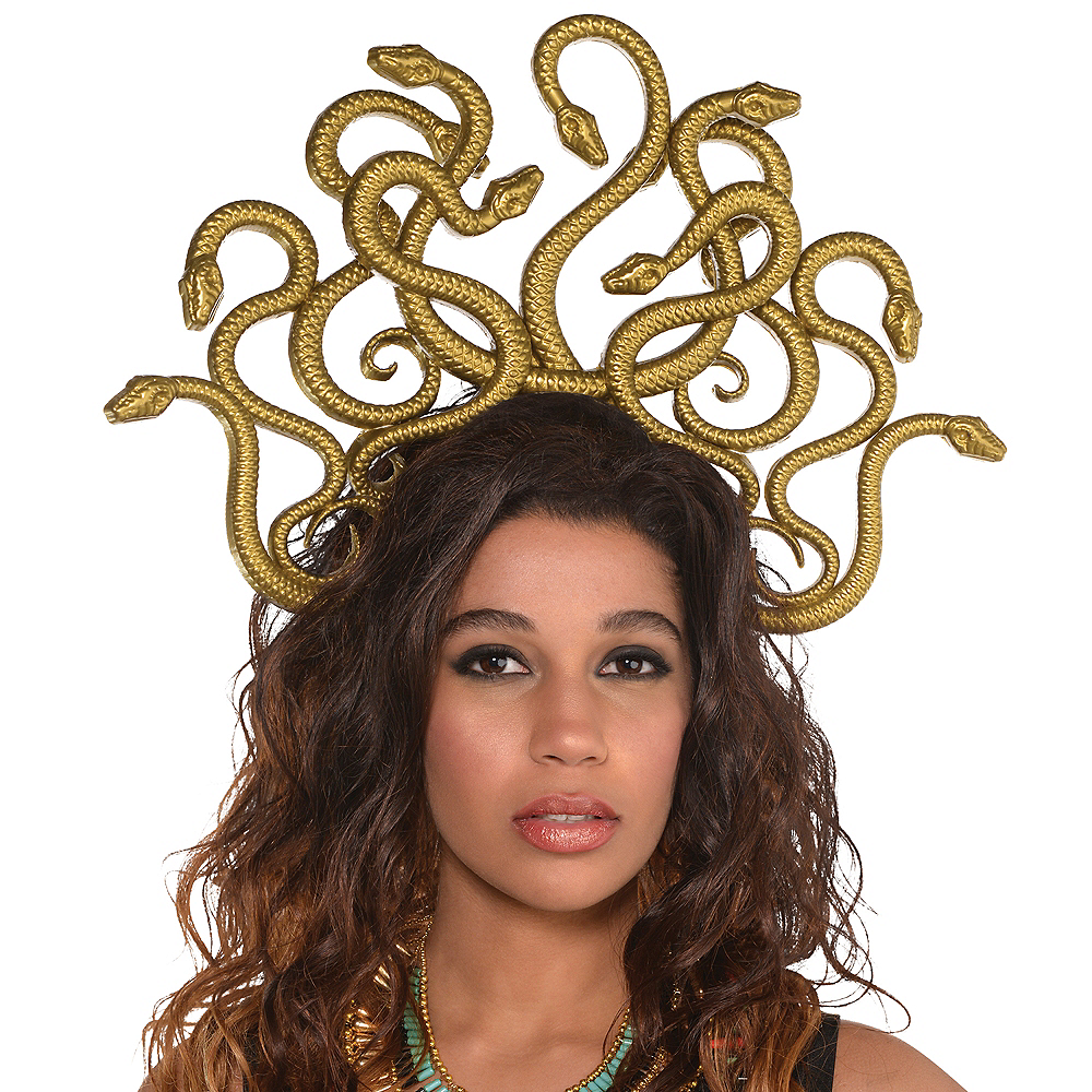 Nav Item for Adult Medusa Headband Image #3