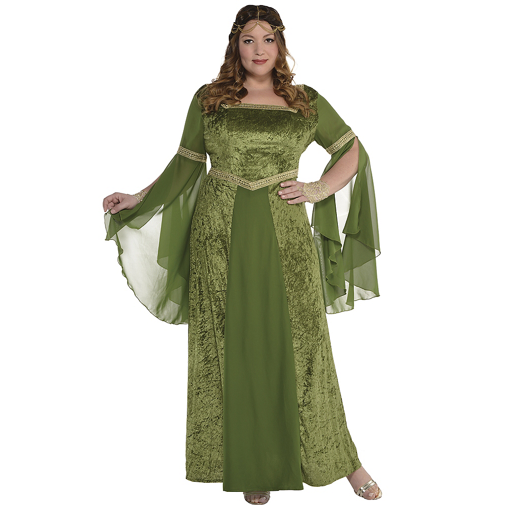 Nav Item for Adult Renaissance Gown Plus Size Image #1