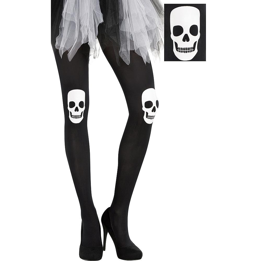 Adult Skull Tights Image #1