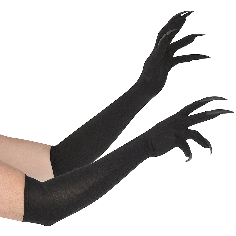 Adult Long Cat Claw Gloves | Party City