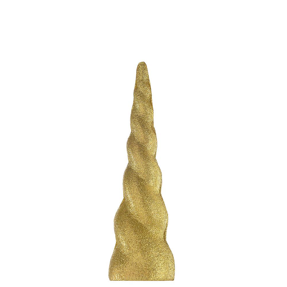 Glitter Gold Unicorn Horn Image #1