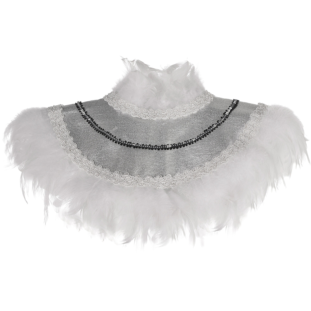 White Feather Collar Image #1