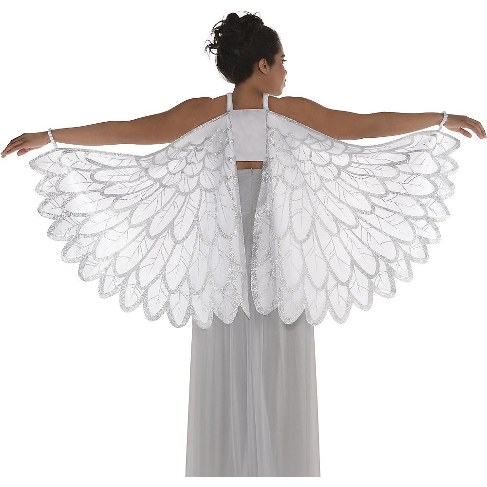 Adult Snow Fantasy Angel Wings Image #1