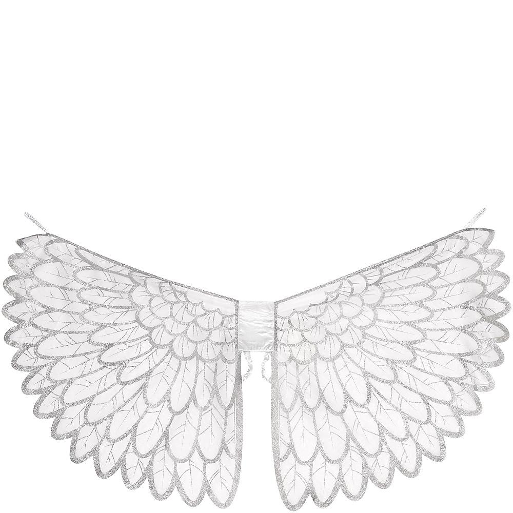 Adult Snow Fantasy Angel Wings Image #2