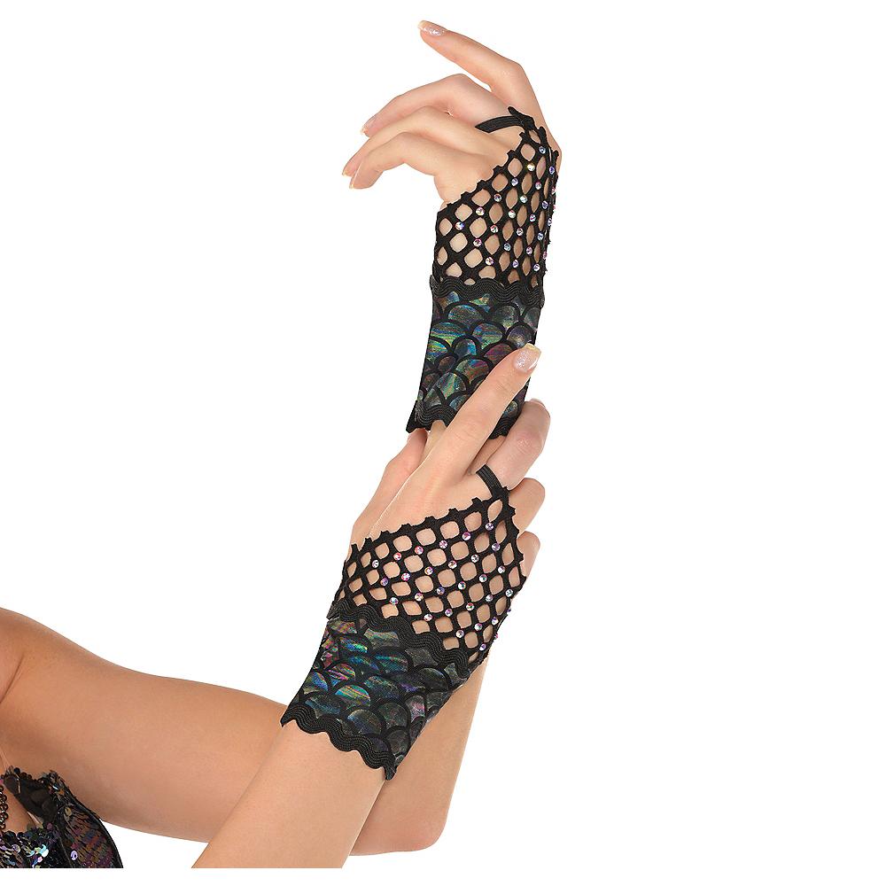 Adult Sea Siren Mermaid Glovelettes Image #1
