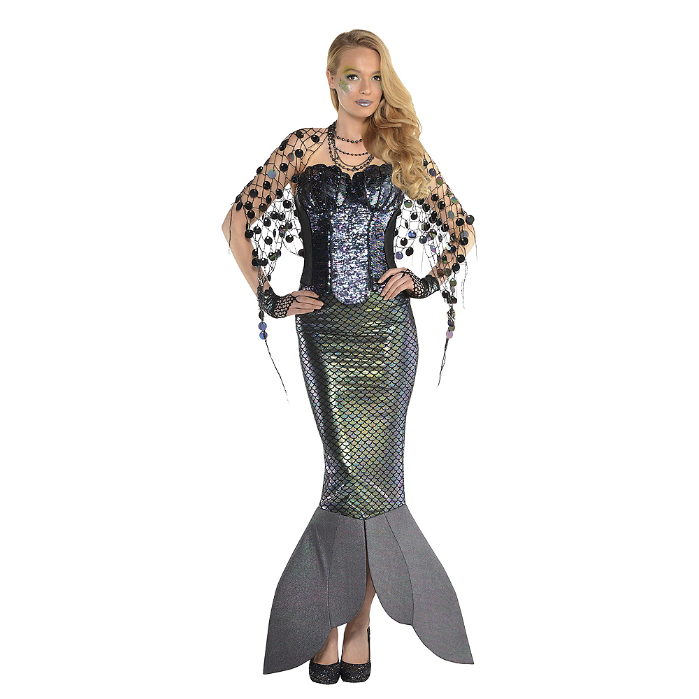 Adult Sea Siren Mermaid Net Wrap Image #2
