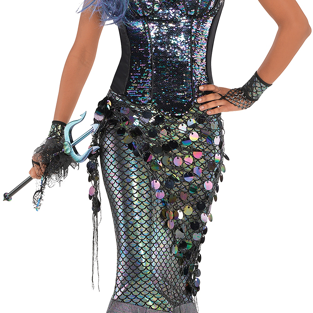 Adult Sea Siren Mermaid Net Wrap Image #3