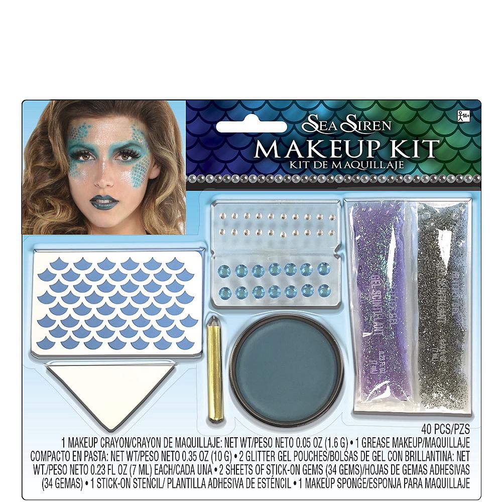 Adult Sea Siren Mermaid Makeup Kit Image #1