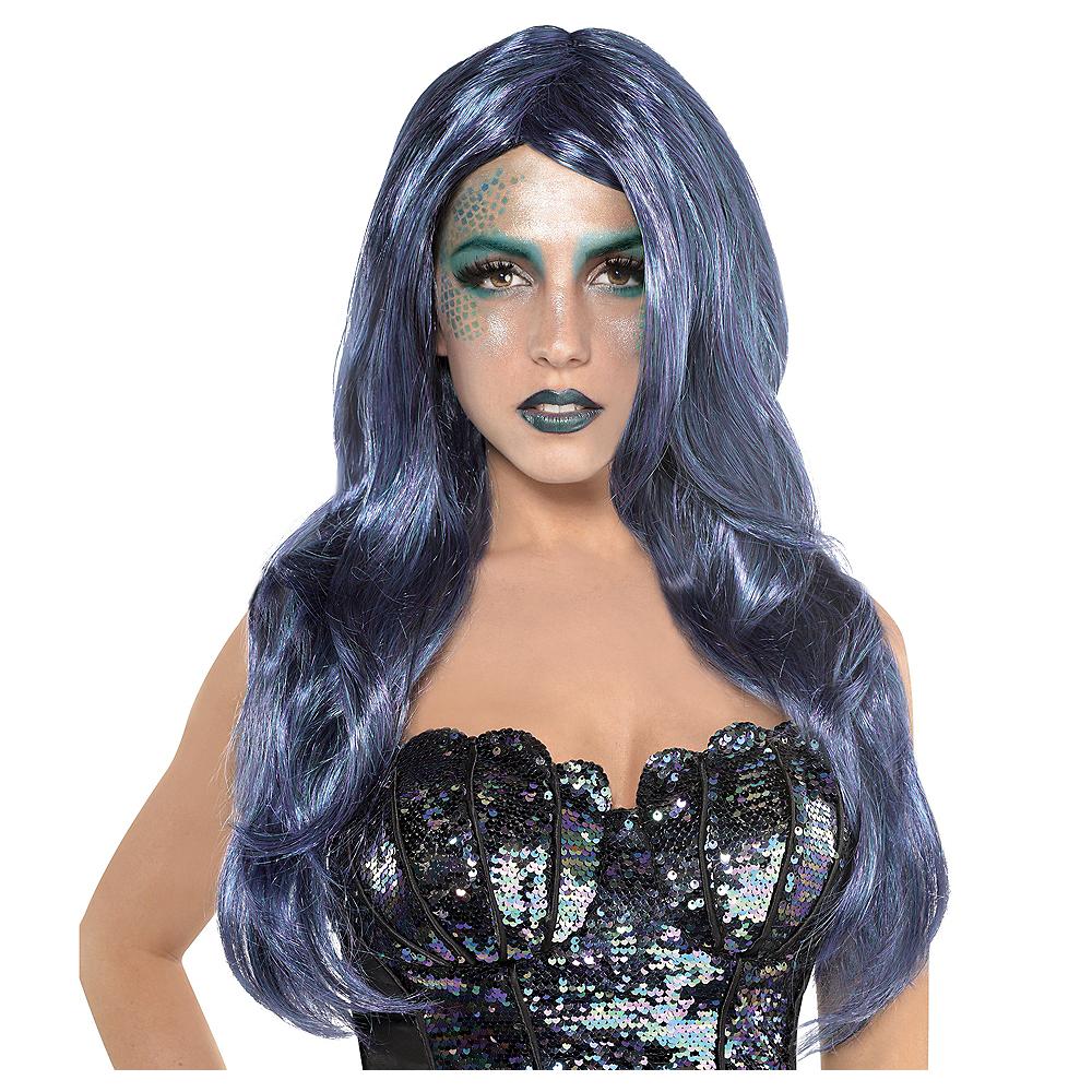 Adult Sea Siren Mermaid Wig Image #1