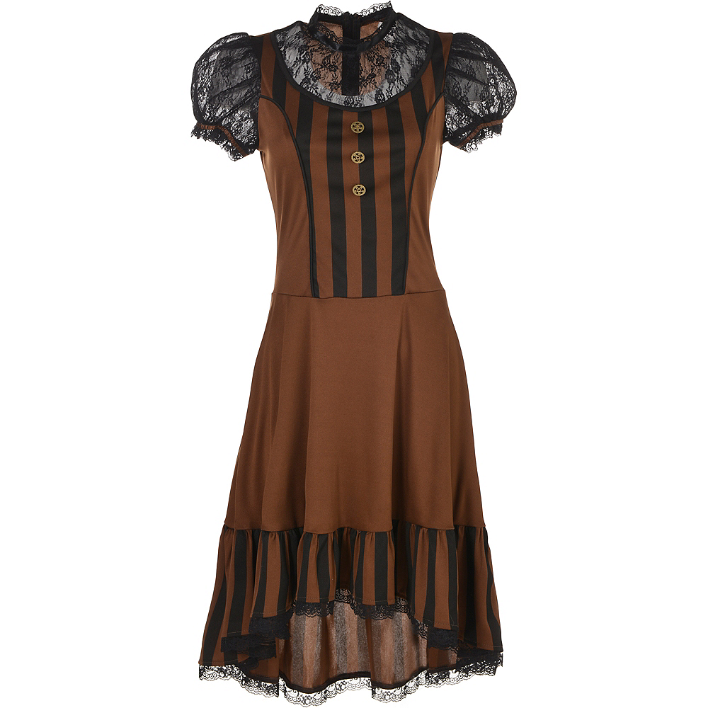 Adult Steampunk Dress Image #2