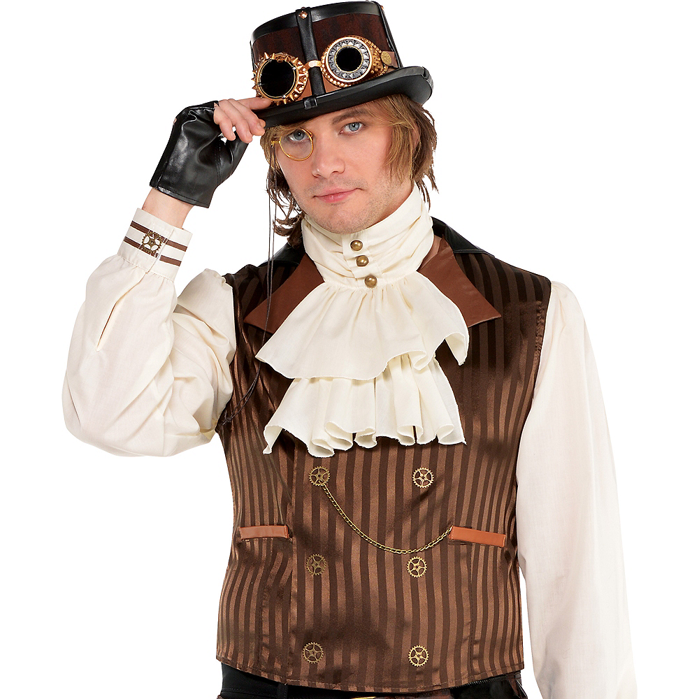 Adult Long-Sleeve Steampunk Shirt Image #1