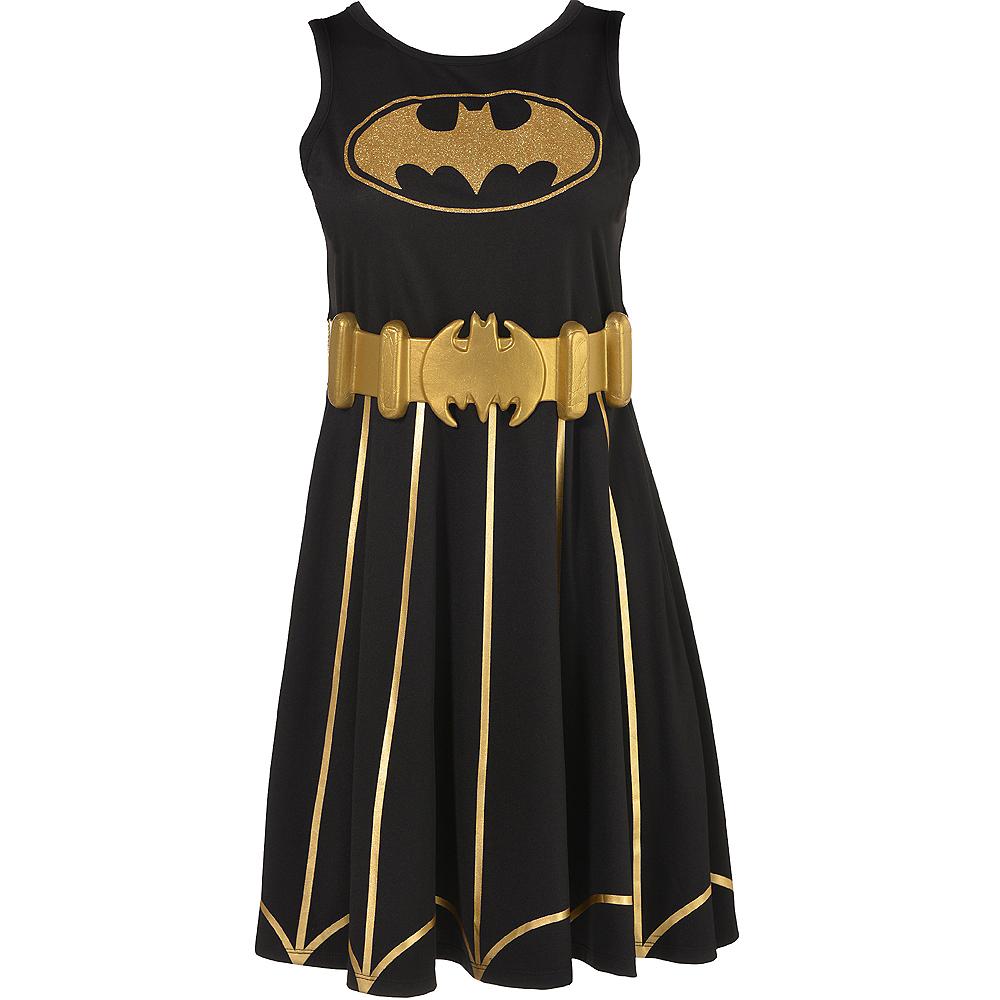 Adult Batgirl Fit & Flare Dress - Batman Image #2