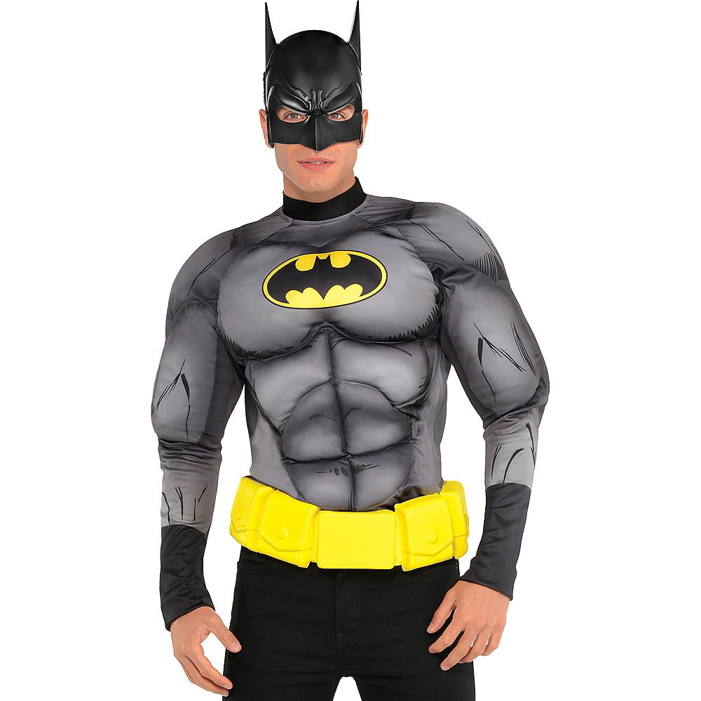 Adult Batman Muscle Shirt Image #1