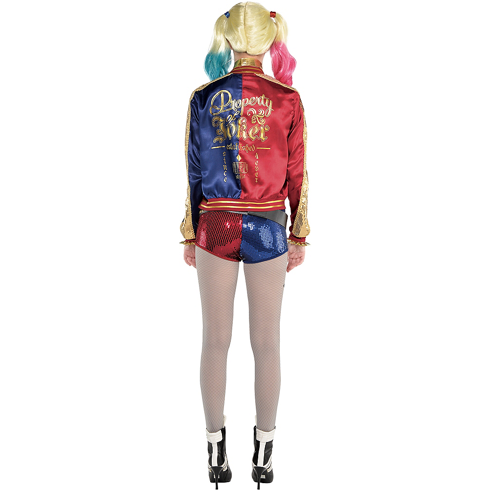 Nav Item for Adult Harley Quinn Jacket - Suicide Squad Image #2