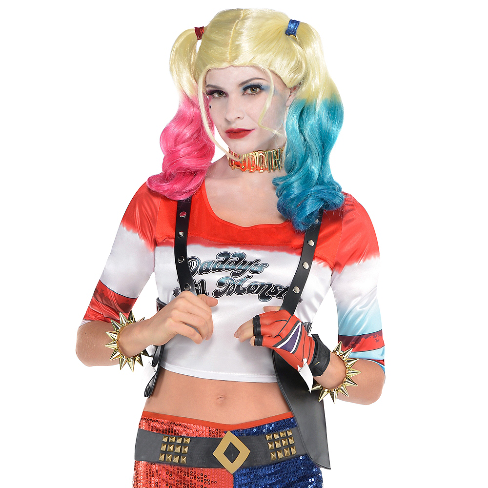 Nav Item for Adult Harley Quinn Shoulder Holster - Suicide Squad Image #2
