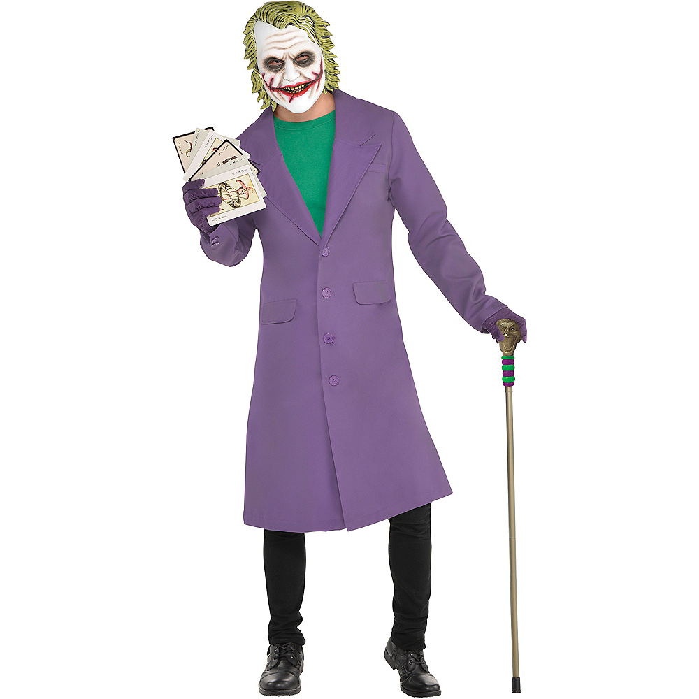 Adult Joker Jacket - The Dark Knight 3 Image #1