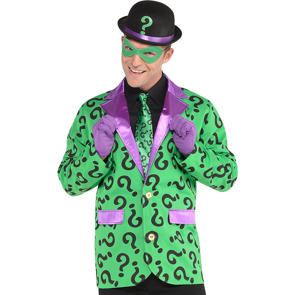 Adult Riddler Costume Accessory Kit - Batman Image #1